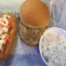 Special #3 One BBQ Sandwich & One Hot Dog, Regular Side & Drink.